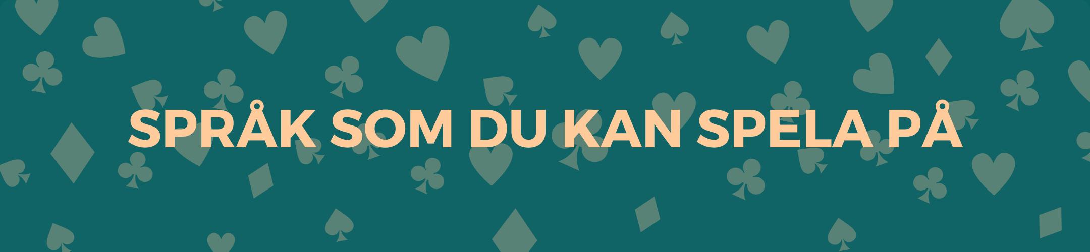 Språk som du kan spela på